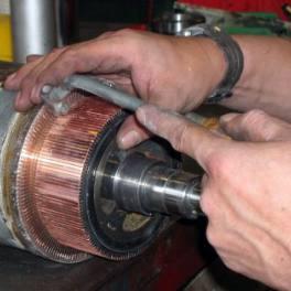 •réparation de moteur électrique